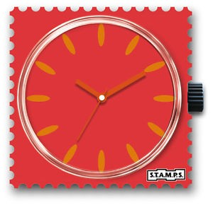 S.T.A.M.P.S. - Uhr - Peach - Stamps