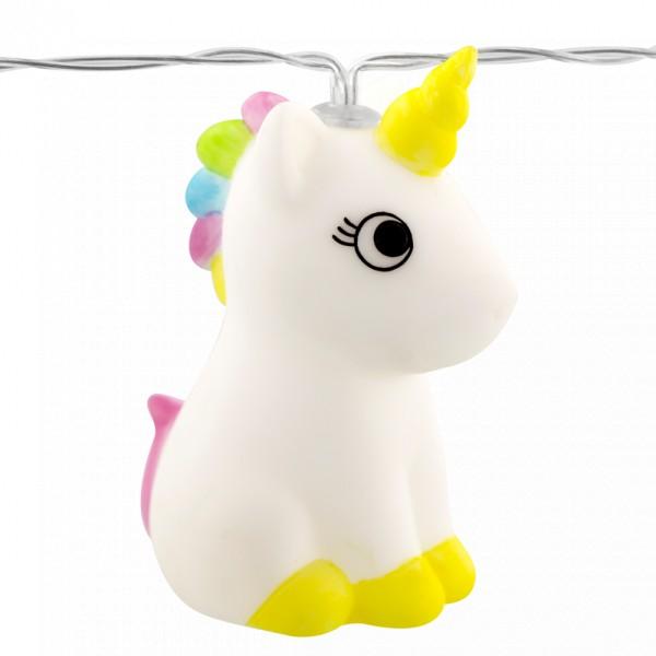 Pylones - Lichterkette Einhorn - Magicorn Light Unicorn - 10 LED's