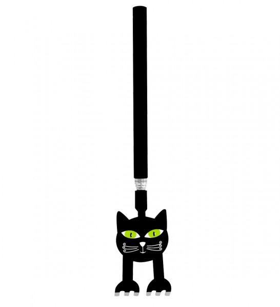 Pylones - Teleskop-Rückenkratzer Chatouille - Katze schwarz