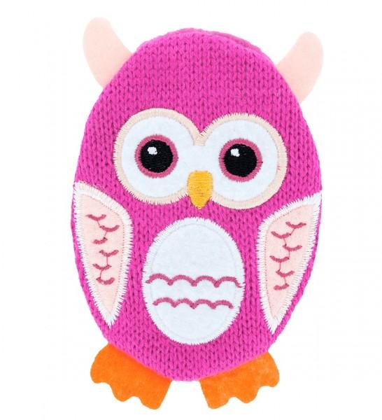 Pylones - Handwärmer Taschenwärmer Eule - Hot - pink