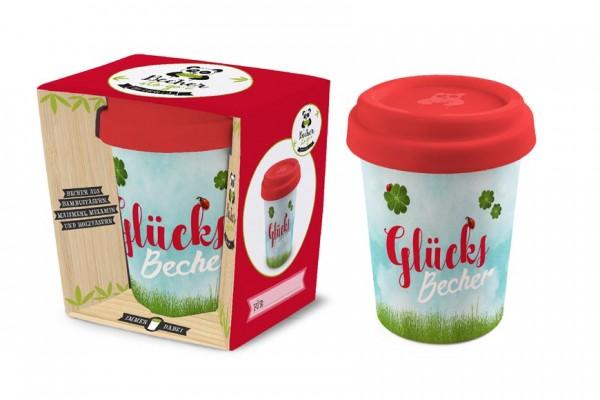 Becher To Go Bambusbecher Mit Deckel Glucksbecher Pigmento