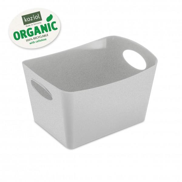 Koziol - Zuber Container Aufbewahrungsbox - Boxxx S - organic grey grau