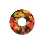 Ring Ding - Scheibe für Ringe - Acryl 21mm Leaves