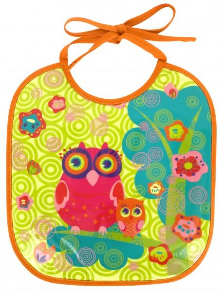 Pylones - Babylätzchen Lätzchen für Kinder - Bib Petit Glouton - Owl