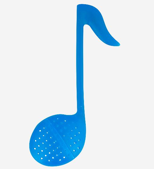 Pylones - Teesieb Teestab - Tee-Ei Note - Music T - blau