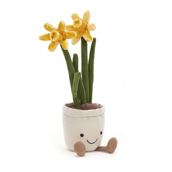 Jellycat - Kuscheltier Stofftier Spielzeug Narzisse - Amuseable Daffodil