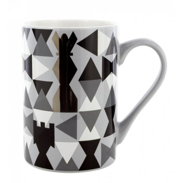 a0041d8359d Pylones - Tasse Becher Kaffeetasse - Schluck - Chess, bunte Tasse ...