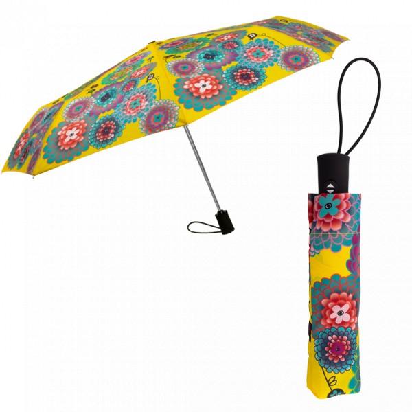 Pylones - Taschenschirm Regenschirm - Parapli - Dahlia