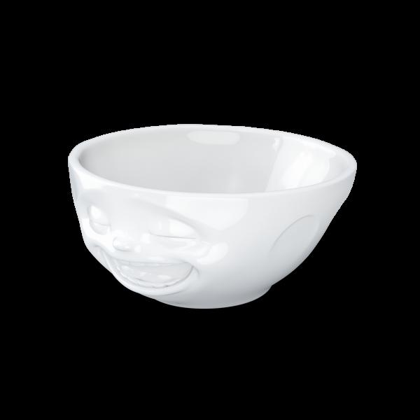 TV Tassen - Schale mit Gesicht 350 ml - lachend - aus Porzellan
