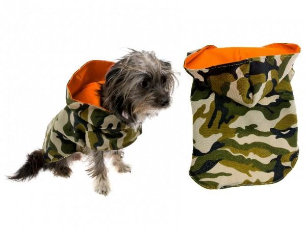 Hunde Windjacke - Regenjacke - Camouflage