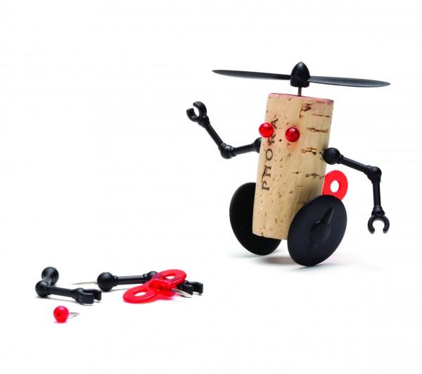 Monkey Business - Pin-Nadeln für Korken - Corkers Robots - Willy