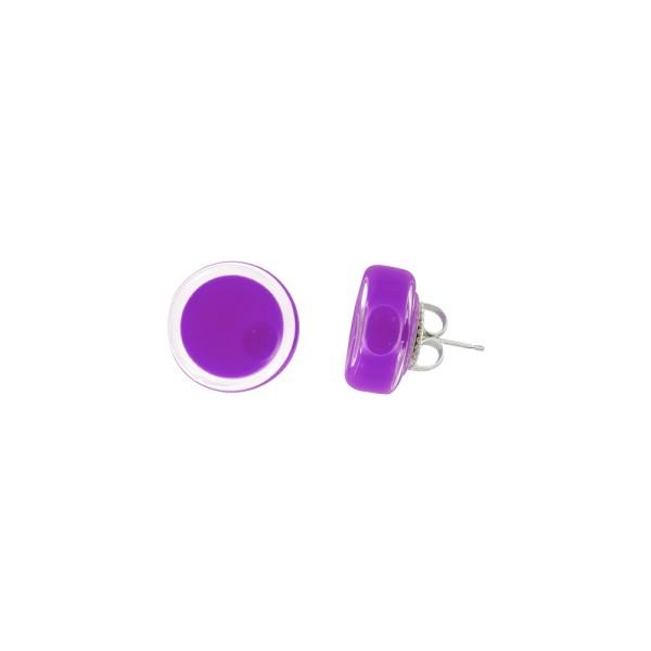 Pylones - Ohrstecker - Clou Cachou Milk - violett lila