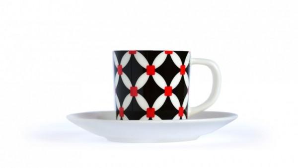 Remember - Espresso-Tasse mit Untertasse - Elise