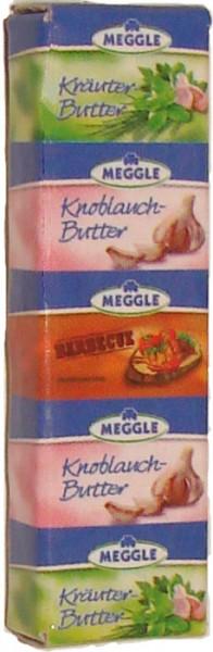 Kühlschrank-Magnet Miniatur - Meggle Kräuterbutter