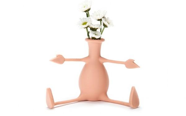 Peleg Design - Flexible Blumenvase - Florino - peach