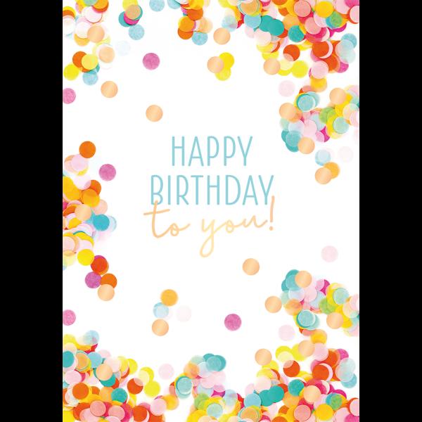 Happy Birthday Karte.Maxi Card Xxl Karte Din A4 Happy Birthday To You