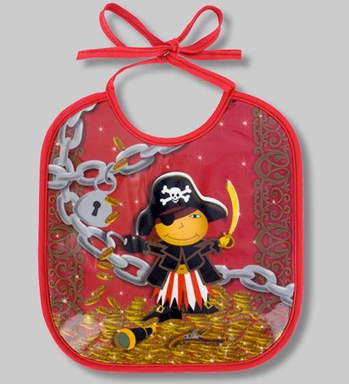 Pylones - Babylätzchen Lätzchen für Kinder - Bib Petit Glouton - Pirate