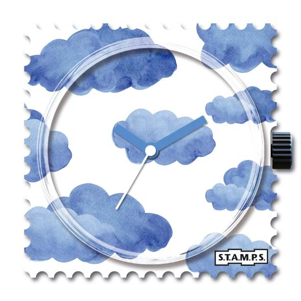 S.T.A.M.P.S. - Uhr - Stamps - Blue Clouds