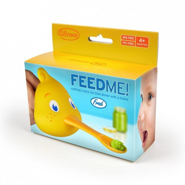 Invotis - Fred - Babylöffel Fütterhilfe Ente - Feed Me