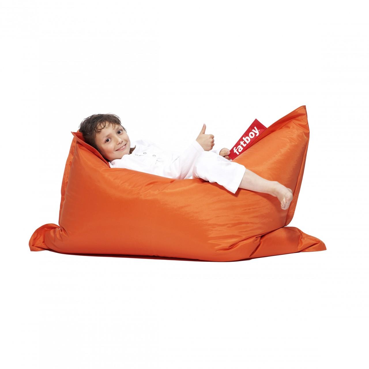 Fatboy Sitzsack Für Kinder The Junior Orange Pigmento Kunst