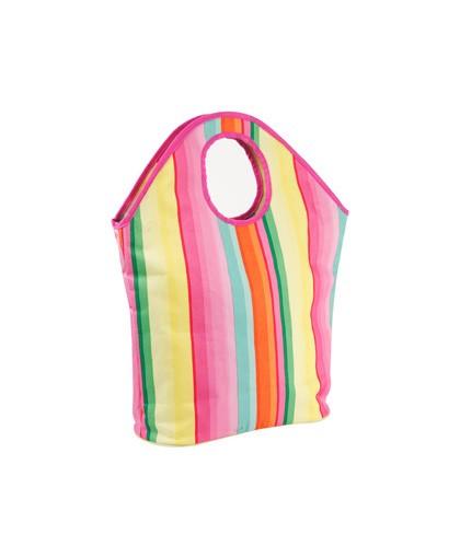 Strandtasche - Einkaufstasche - Indian Summer - Stripes