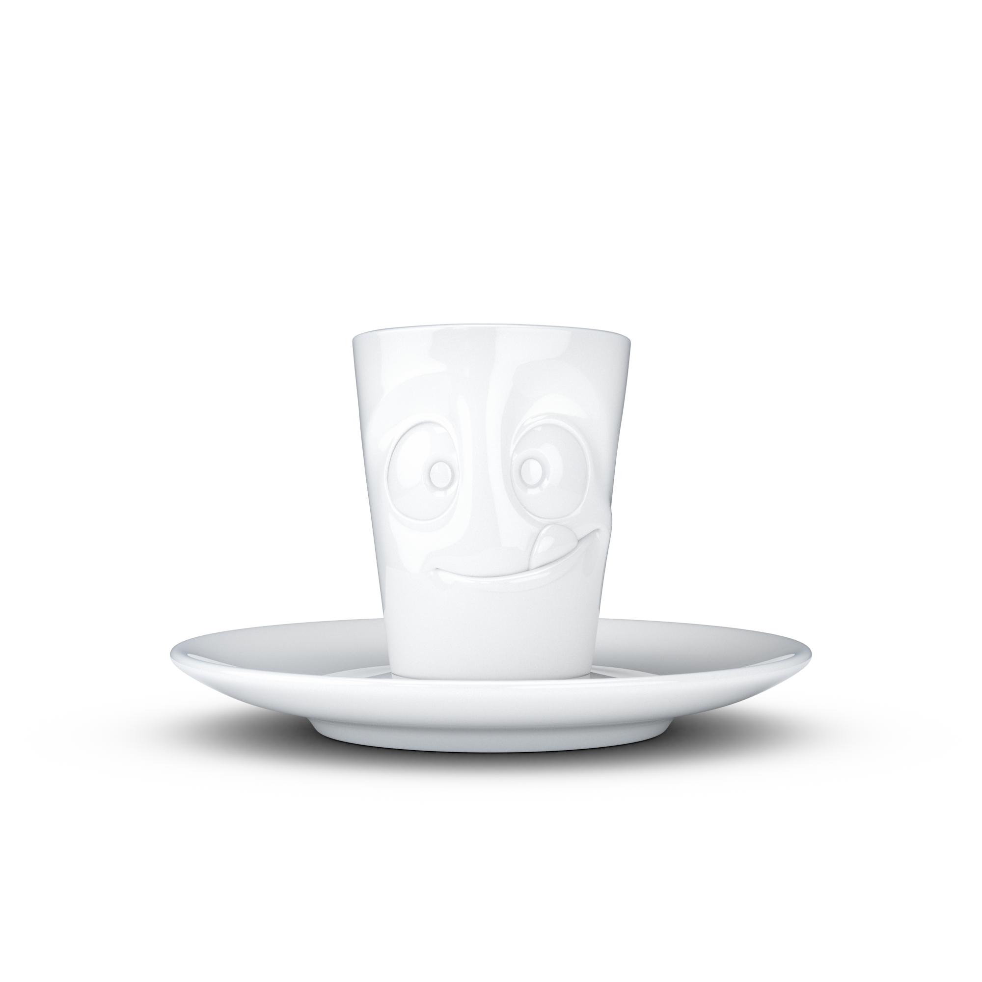 tv tassen espressotasse mit gesicht und untertasse lecker 58products tv tassen tassen mit. Black Bedroom Furniture Sets. Home Design Ideas