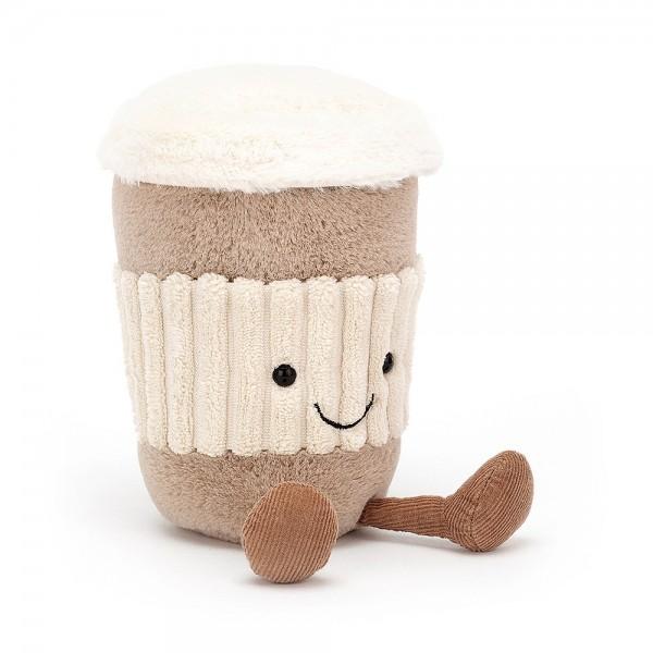 Jellycat - Kuscheltier Stofftier Spielzeug Kaffeebecher - Amuseable Coffee-to-Go