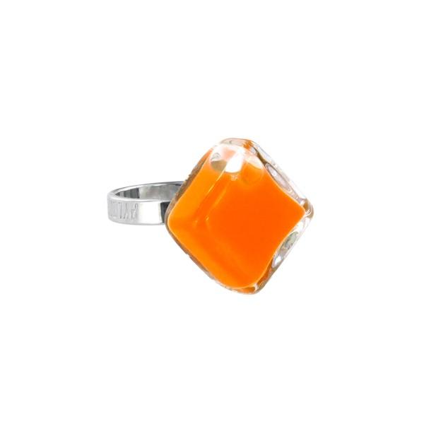 Pylones - Ring - Nano Losange Milk - Flüssigkeit orange