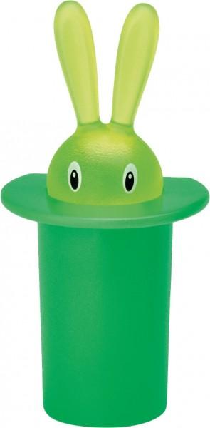 Alessi - Magnet - Magic Bunny - Miniatur Zahnstocherhalter grün