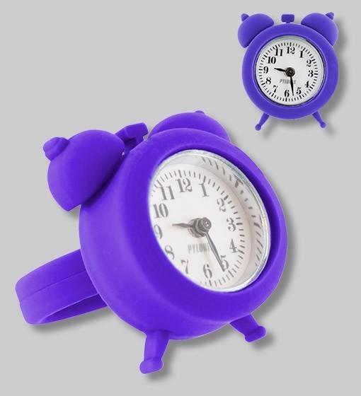 Pylones - Uhren-Ring - Ring mit Uhr - Nano Watch - dunkelblau