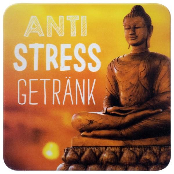 Gruss und Co - 3D-Kork-Untersetzer - Anti Stress Getränk