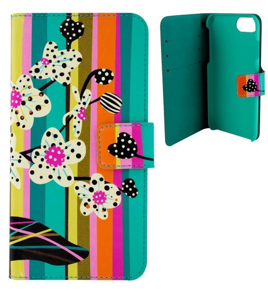 Pylones - iPhone-Hülle zum Umklappen - iWallet - Orchid