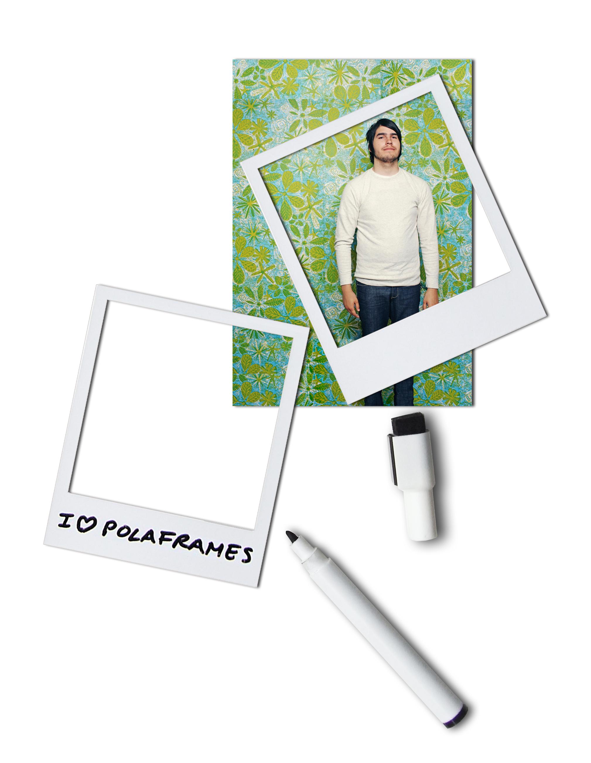 doiy - Magnetische Bilderrahmen - Polaroid - Polaframes - 6 Stück ...