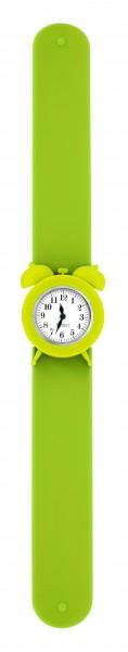 Pylones - Uhr Silikon Reflexarmband - My Time - grün