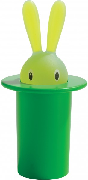 Alessi - Zahnstocherbehälter - Magic Bunny - grün