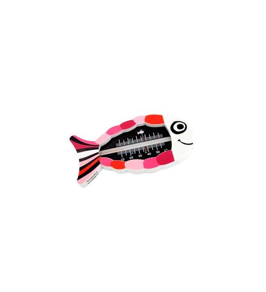 Pylones - Schwimmendes Badethermometer Fisch Ploof Ploof Pink