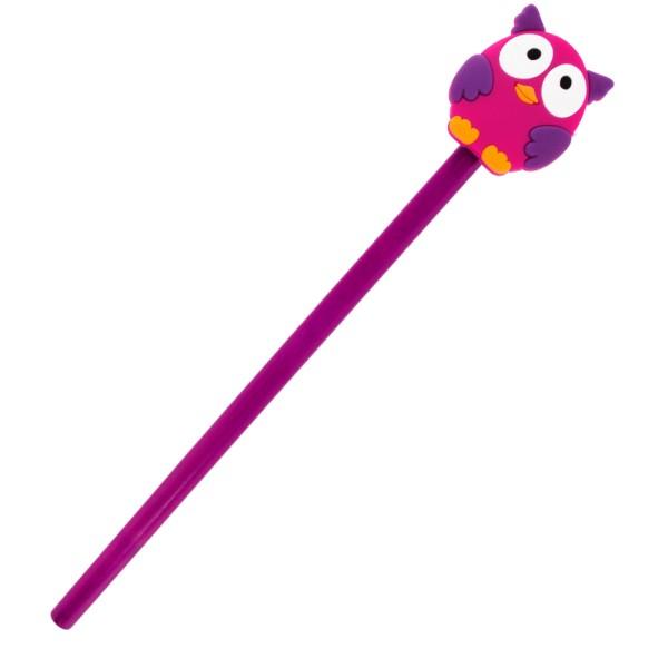 Pylones - Bleistift mit Aufsatz - Anipencil - Owl Eule