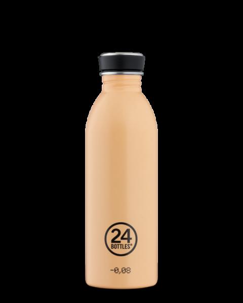 24bottles - Edelstahl-Trinkflasche 500ml - peach pfirsich orange