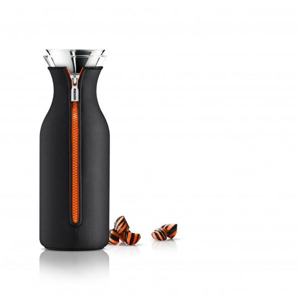 Eva Solo - Überzug für Kühlschrank-Karaffe 1l - schwarz/orange
