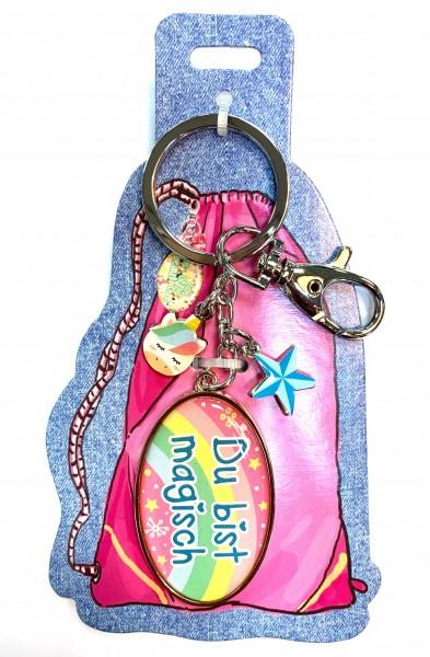 My Beautytree - Taschenanhänger Schlüsselanhänger - Du bist magisch