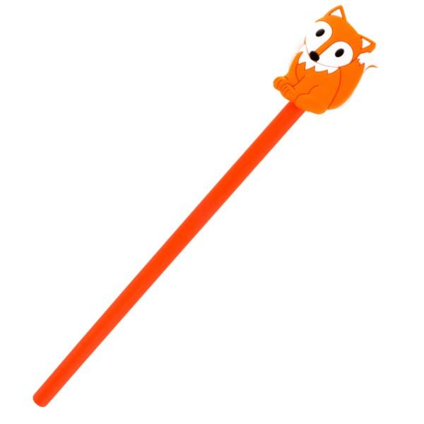 Pylones - Bleistift mit Aufsatz - Anipencil - Fox Fuchs
