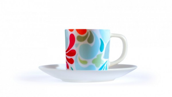Remember - Espresso-Tasse mit Untertasse - Florina