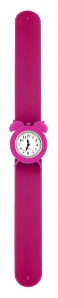 Pylones - Uhr Silikon Reflexarmband - My Time - pink