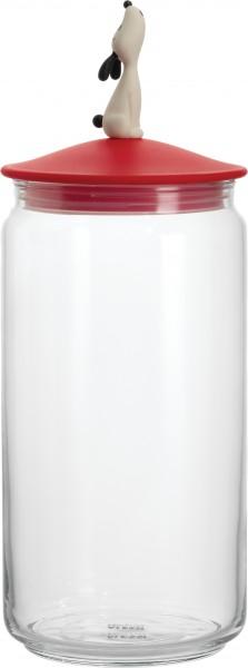 Alessi - Behälter für Hundefutter - Vorratsdose - Lulàjar rot