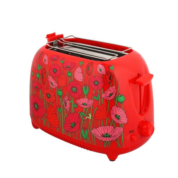 Pylones - Toaster - Tartin - Coquelicots - mit Brötchen-Aufsatz