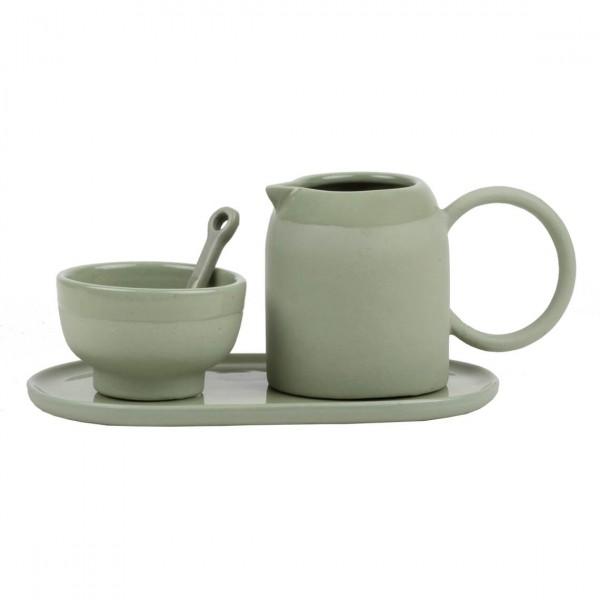 Räder - Milch- und Zucker-Set - Mix und Match Genussgemeinschaft - grün