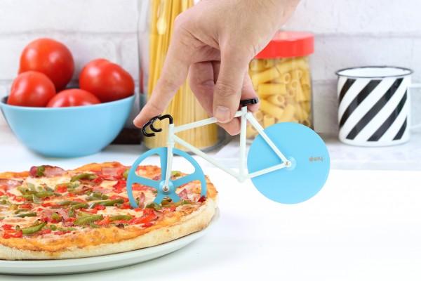 doiy - Pizzaschneider Fahrrad - Fixie Pizza Cutter - Antarctic