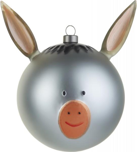 Alessi - Weihnachtskugel - Esel - Asinello