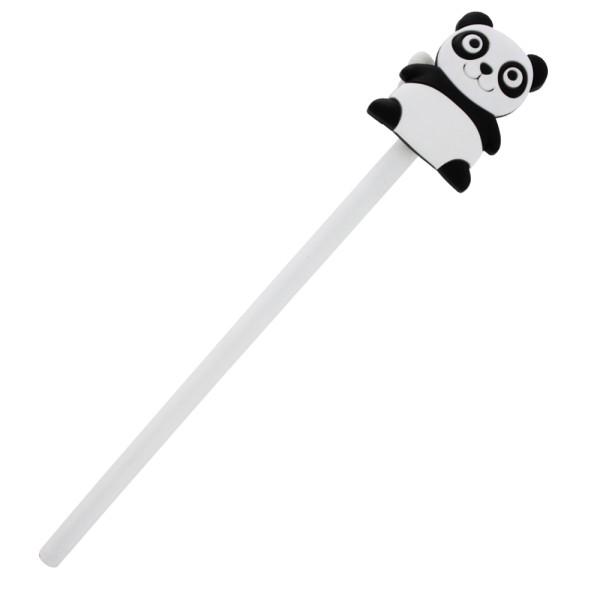 Pylones - Bleistift mit Aufsatz - Anipencil - Panda
