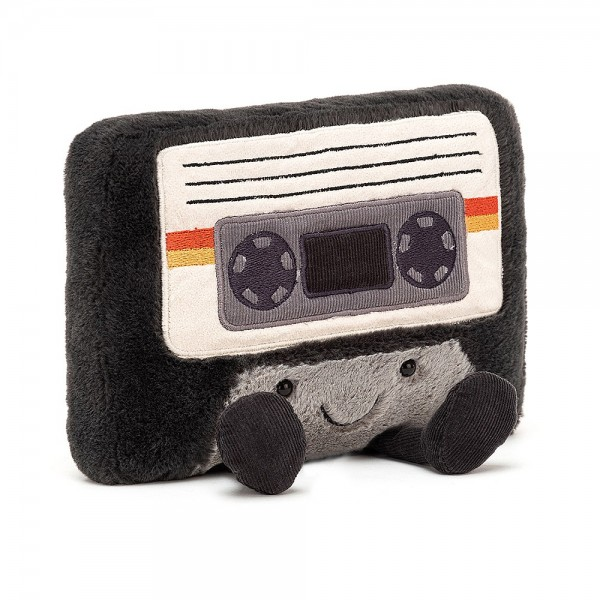 Jellycat - Kuscheltier Stofftier Spielzeug Musik-Kassette - Amuseable Cassette